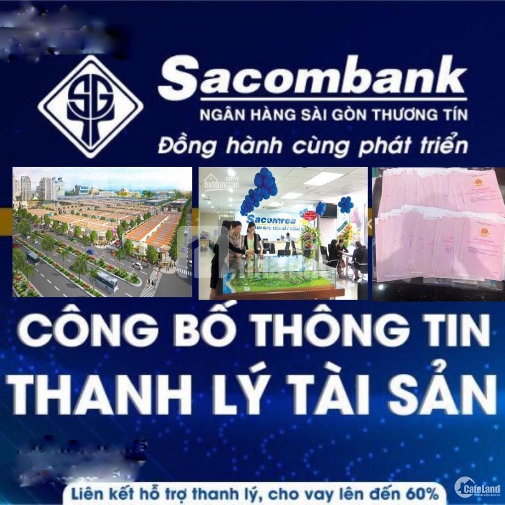 Ngân hàng thông báo ngày 08/12/2019 thanh lý 6 nền đất KDC Bến xe Miền Tây