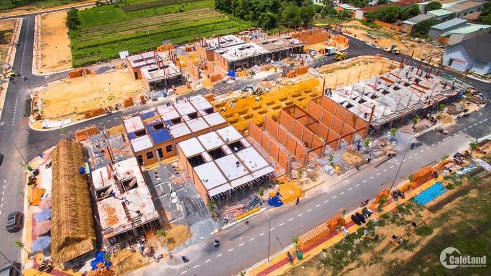 Cơ hội sở hữu nhà phố xây dựng sẵn dự án Tân phước khánh Village chỉ 1,9 tỷ căn