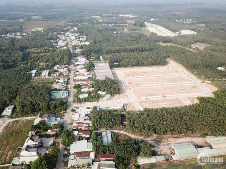 Đất đầu tư ngay chợ Vĩnh Tân thị xã Tân Uyên sổ đỏ, thổ cư 100%