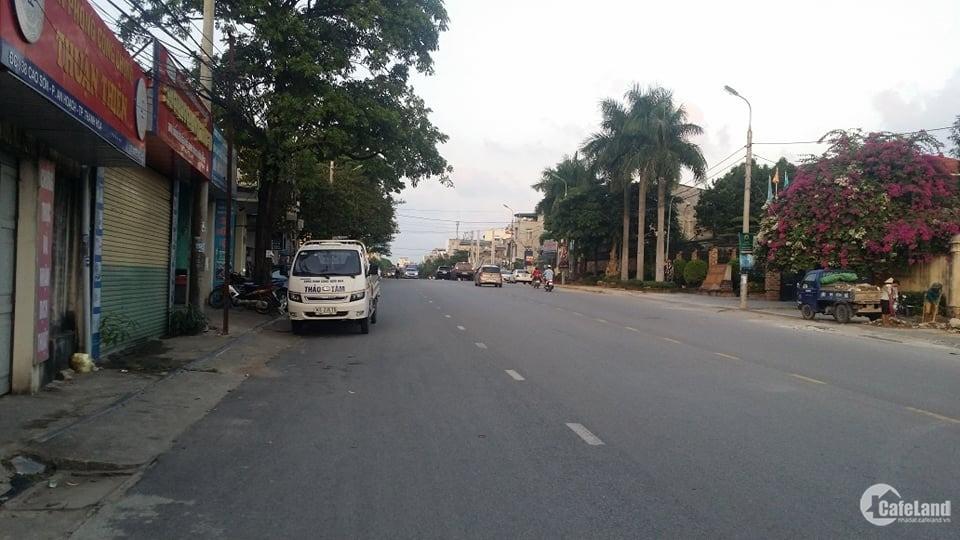 Cần bán lô đất mặt phố Cao Sơn, Phường An Hoạch 120m2, MT 5m kinh doanh sầm uất