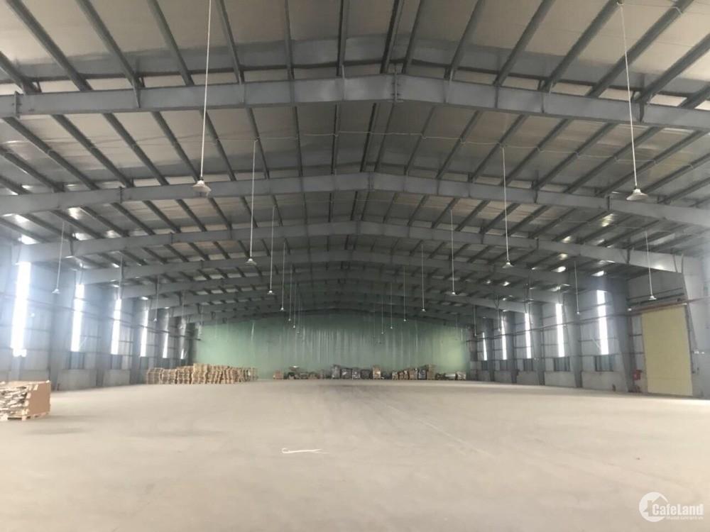Cho thuê kho xưởng DT 1200m2, 2000m2,3000m2,4500m2 tại Cụm cn Khắc Niệm, BN