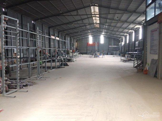 Cho thuê kho xưởng DT 800- 1200m2 An Khánh Hoài Đức Hà Nội.