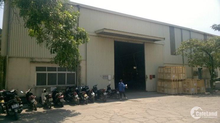 Cho thuê kho xưởng DT 500-1200m2 Đức Giang, Long Biên, Hà Nội.