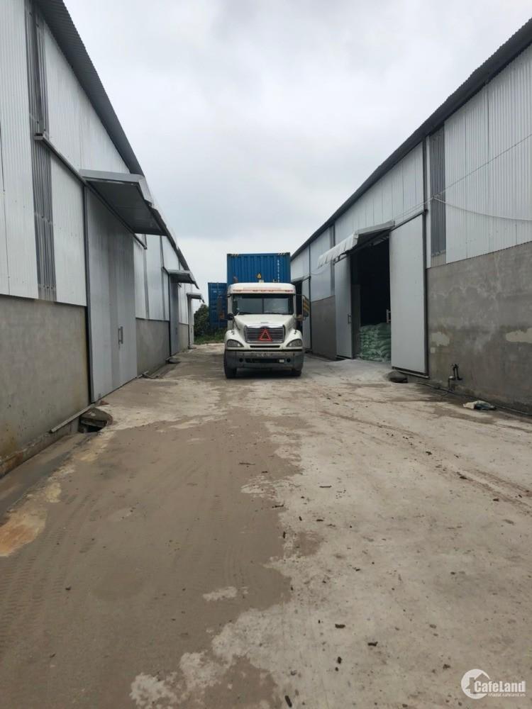 Chính chủ cần cho thuê 500m, 1000m, 2000m nhà xưởng tại Văn Giang,Hưng Yên