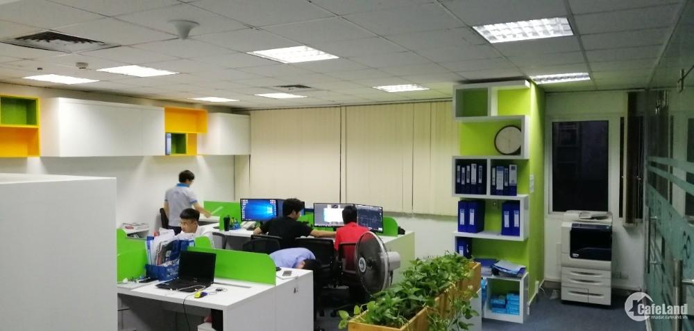 Cần cho thuê văn phòng giá rẻ tại Cầu Giấy  125m giá 10$ cả thuế phí
