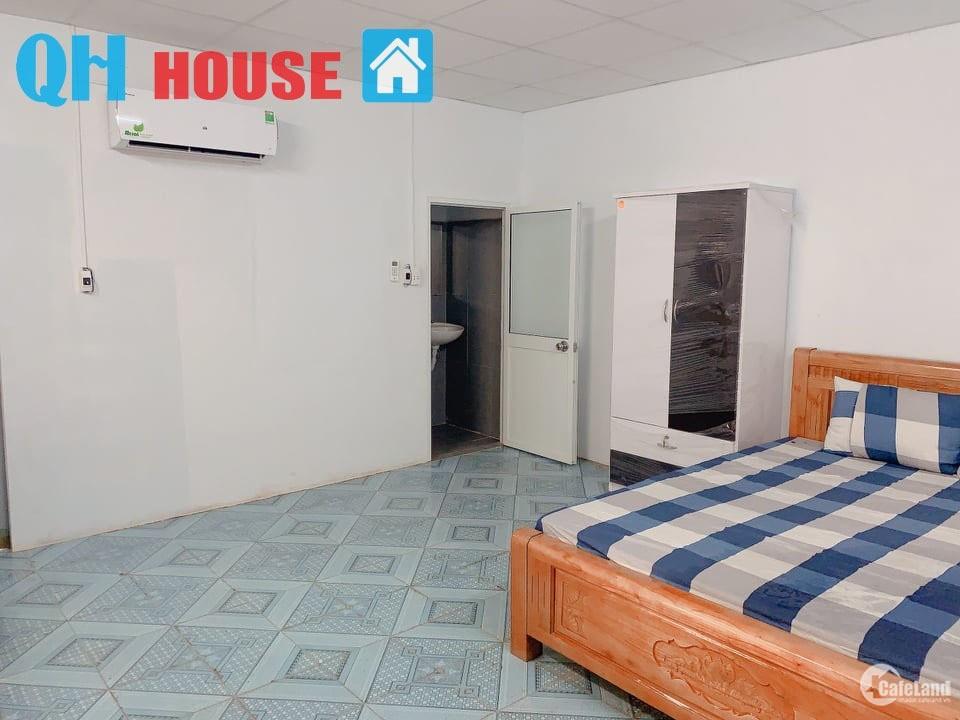 căn hộ QH House đường Duy Tân full nội thất giá chỉ 4tr5/ tháng