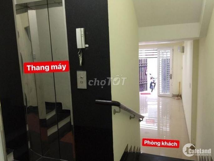 Nhà HXH Ngô Tất Tố P.19 DT: 4.5 x18m (4 LẦU+thang máy). Giá 35 triệu
