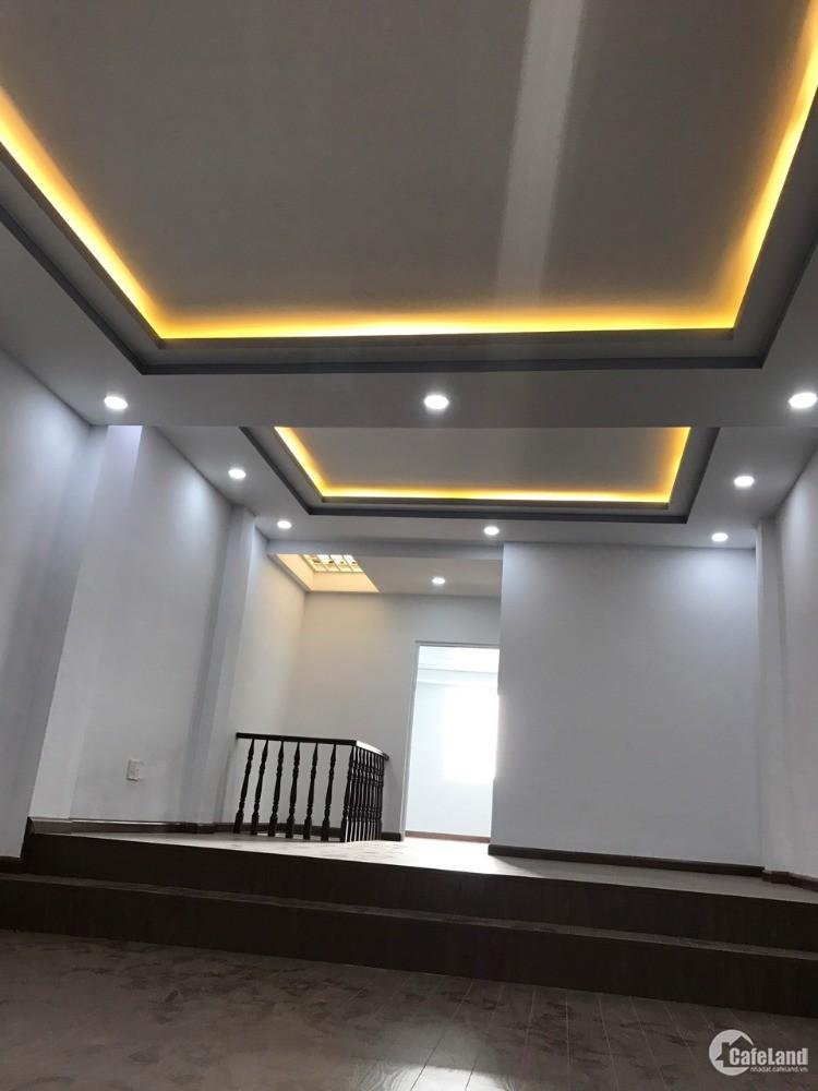 Nhà cho thuê 3PN 100m2 mới đẹp 1225 HTP, p.Phú Thuận, Quận 7