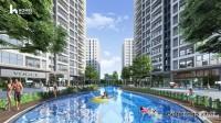 Bán căn hộ 2PN+1 2wc ban công Đông Nam, tầng trung view đẹp