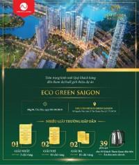 Eco green sài gòn giá gốc cđt. Chiết khấu 3%, tặng 2 cây vàng. Chỉ thanh toán
