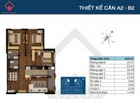 Bán căn hộ Việt Đức Complex, 103m2, bàn giao thô, giá rẻ