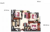 Bán căn hộ biển Vùng Tàu, Osc land 3PN 90m,Căn góc view biển, giá 22tr m