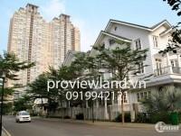 Biệt thự Saigon Pearl cần bán, sổ hồng, DT 200m2, 3 tầng, nhà thô, giá 62 tỷ