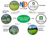 Dự án Sakana Spa & Resort Hòa Bình - Bất động sản nghỉ dưỡng cao cấp ven đô