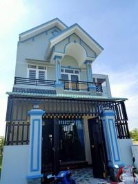 Bán nhà gần chợ Hưng Long – Bình Chánh, 100m2, sổ hồng riêng