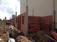 Nhà trọ đang xây được 50%, cần sang lại gấp 1 kiot+10p . 6x21m . giá 1 tỷ  5 .