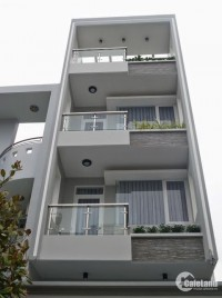 Bán nhà hẻm xe tăng Bàu Bàng, P.13, Tân Bình, 5.1x17m; 4 tầng, giá cực tốt 12 tỷ