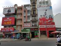 Bán nhà Góc 2MTKD  Bờ Bao Tân Thắng    Q.Tân Phú   DT 7x23m   4 lầu st   43 tỷ