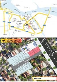 Nhà Phố liên kế trung tâm TP vĩnh long mặt tiền đường Phạm Thái Bường