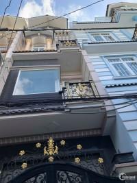 Nhà mới hoàn thiện, Dt 4x14m 3 lầu 4PN đường Phạm Văn Chí P7 Q6