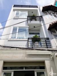 Bán nhà 3 tầng mặt tiền hẻm xe hơi 803 Huỳnh Tấn Phát Quận 7