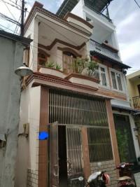 Bán nhà 2 tầng hẻm 4m đường Âu Cơ, Phường 10, Tân Bình ( hình thật 100%)