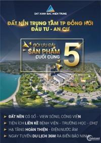 Đất Xanh Bắc Miền Trung mở bán 5 lô đất vàng cuối cùng của dự án Đông Nam Lê Lợi