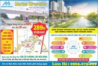 MARINA RIVERSIDE – Sản phẩm đất nền ngay Trung Tâm Hành Chính