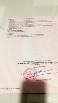 Bán đất mặt tiền tỉnh lộ 925 Châu Thành Hậu Giang  Gần Trung Tâm Thương Mại Ngã