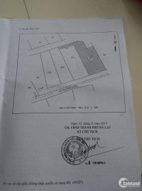 Bán lô đất 363,8 m2 mặt tiền Võ Trường Toản - P.8