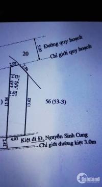 Đất đầu kiệt Nguyễn Sinh Cung. Gần chợ Vỹ Dạ