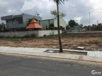 Bán 2 lô đất mặt tiền đường nhựa 20m, sổ hồng riêng, xây dựng ngay, thổ cư 100%