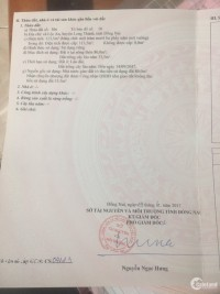Cần Bán Lô Đất Khu Lò Gốm - Lộc An - Long Thành. Cạnh Khu Tái Định Cư Sân Bay