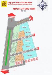 Mặt Tiền Đường 44m Ngay TT Long Thành Chỉ 599 Triệu.