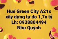 Cần bán lô A213 Khu Đô Thị Phú Mỹ Thượng - Huế