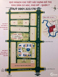 Bán đất nền dự án ADC NGUYỄN LƯƠNG BẰNG QUẬN 7 , cơ hội đầu tư giá từ 57tr/m