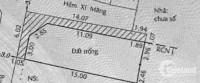 Đất 6.02 x 16m nở hậu 6.5m, HXH, lô góc 2 mặt tiền hẻm, giá 5.7