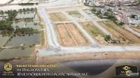 Bán Đất nền sổ Đỏ dự án KĐT Châu Âu ngay tại TT TX Ba Đồn - view 3 mặt sông