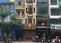 Cho thuê nhà mặt phố Chùa Láng: 60m2, mặt tiền 4m.