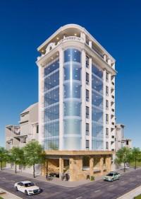 Cho Thuê Nhà mặt phố Phạm Tuấn Tài, 190mx6 tầng , MT 10m giá 9500$/tháng