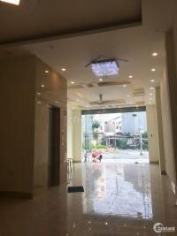 Cho thuê nhà 6 tầng, thang máy, 8 phòng điều hòa, phố Lê Lai, Hà Đông.