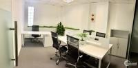 CHo thuê văn phòng trọn gói bao điện nước Ba Đình, toà nhà 12 tầng, Phòng 4 ngườ