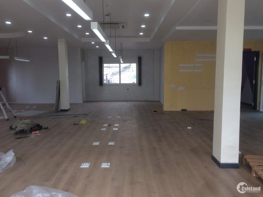 Office cho thuê 200 m2 (14x14) view đẹp, yên tĩnh ngay chợ Bà Chiểu, đường LQĐ