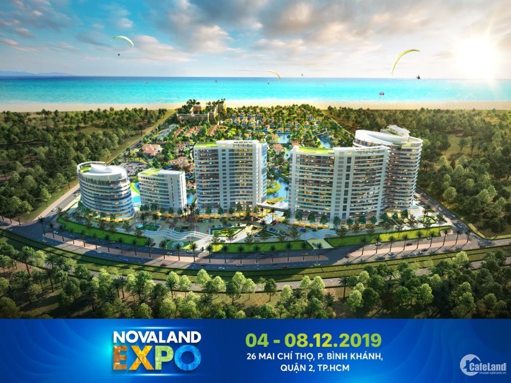 Mở bán căn hộ nghỉ dưỡng NovaBeach Cam Ranh, CĐT Novaland, giá 1.65 tỷ