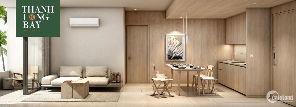 THANH LONG BAY - CHỈ VỚI 20triệu/tháng Sở hữu căn hộ 5* Full nội thất VIEW BIỂN