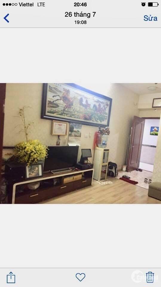 Bán căn hộ tầng trung giá 830triệu tại tòa CT11 Kim Văn Kim Lũ,SĐCC