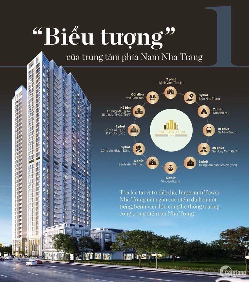Nhận booking căn hộ cao cấp IMPERIUM TOWER