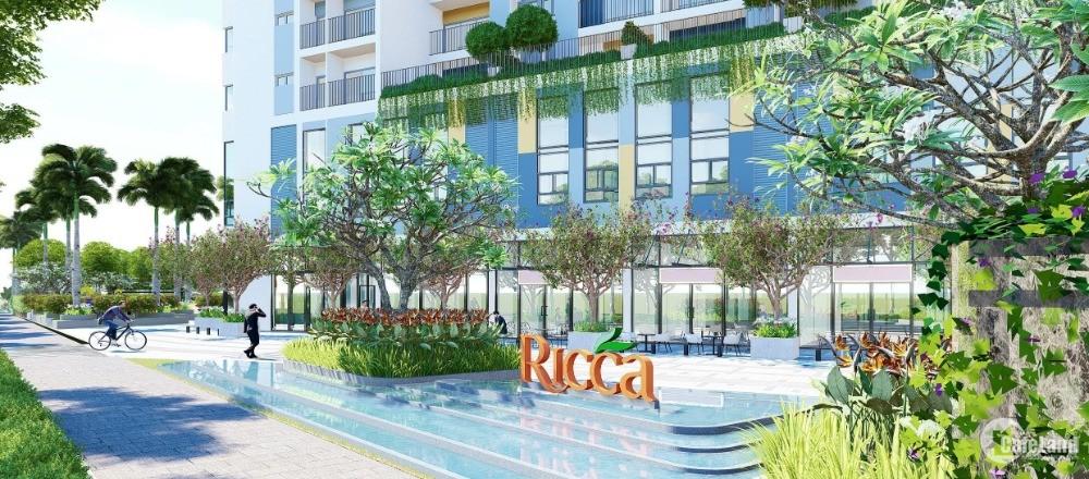 Chỉ 1,6 tỷ sở hữu ngay căn hộ RICCA quận 9, nhiều ƯU ĐÃI THÚ VỊ