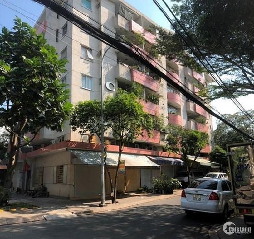 Chính chủ bán căn hộ chung cư, 53 Vườn Lài, lô C, DT 65m2, 2pn, có sổ