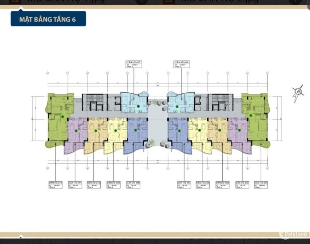 Sở hữu ngay *ARIA* Căn Hộ Nghỉ Dưỡng 5sao  View Biển Chỉ với 40tr/m2.